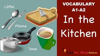 Learn German lessons online for beginners course - We help you learn german in a quick and easy way. Learn German Vocabulary - You will learn various items t...