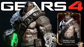 """Gears of War 4 Savage Grenadier Elite Gameplay Savage Locust DLC Character!●Gears of War 4 Savage Locust Packs Opening: http://bit.ly/2urUg9X●Gears of War 4 Raven Down Map Gameplay: http://bit.ly/2ugWJDIWelcome back to another Gears of War 4 Video! Today's video we are going to be showcasing Gears of War 4 Savage Grenadier Elite Character Gameplay. Within Gears of War 4 Savage Grenadier Elite can only be obtained in the DLC Gears of War 4 Savage Locust Pack. Overall the Gears of War 4 Savage Locust Packs contain multiple Gears of War 4 Multiplayer Characters including Gears of War 4 Savage Locust Drone, Gears of War 4 Savage Locust Grenadier, Gears of War 4 Civilian Anya as well as Gears of War 4 Savage Grenadier Elite as seen in this video.SUBSCRIBE to stay up to date with the latest """"Gears of War 4 - Gears of War Ultimate Edition"""" (GOW) information!•Twitch: http://www.twitch.tv/sasxsh4dowz•Twitter: https://twitter.com/SASxSH4DOWZ•Facebook: https://www.facebook.com/SASxSH4DOWZ●Intro by Monsty - https://www.youtube.com/user/monstyARTSSubscribe for more videos! - Shadowz---Video upload by SASxSH4DOWZ (Shadowz Gears of War)Gears of War 4 © Microsoft Corporation. """"Gears of War 4 - """"Savage Grenadier Elite"""" Character Multiplayer Gameplay!"""" was created under Microsoft's """"Game Content Usage Rules"""" using assets from Gears of War 4 and it is not endorsed by or affiliated with Microsoft.Microsoft Content Usage Rules: http://www.xbox.com/en-US/developers/..."""