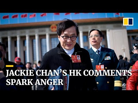 Jackie Chan's Hong Kong comments spark anger