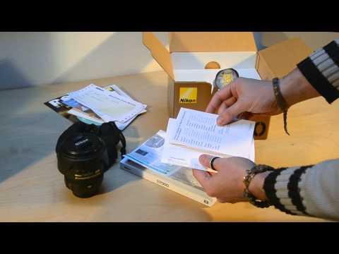 Nikon D7000 + 16-85 VR  Unboxing