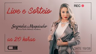 Live Aula 5 + SORTEIO   - SEMANA DA MAQUIAGEM