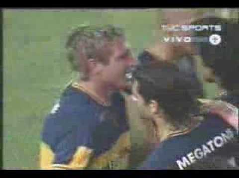 Palermo gol increible