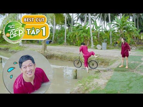 Giang Ca, Puka thi tài chạy xe đạp qua cầu khỉ... Cười vỡ bụng