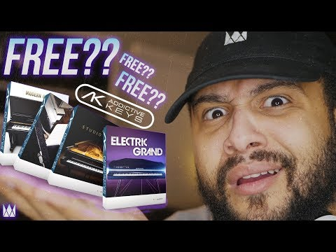 How To Get ADDICTIVE KEYS Instruments For FREE!