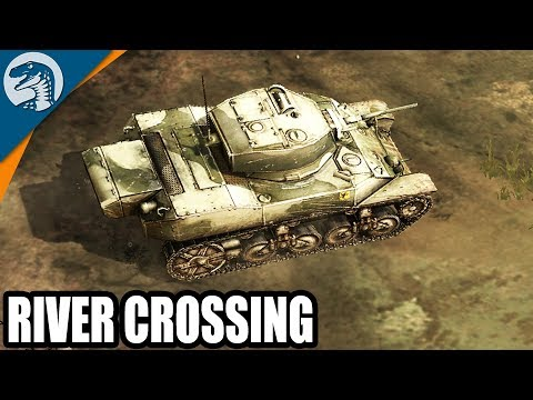 Allies Break Out From Normandy Beaches 1944 | Company of Heroes: Opposing Fronts Gameplay