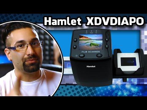 Unboxing Hamlet XDVDIAPO, lettore di diapositive e pellicole