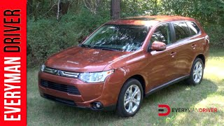 2014 Mitsubishi Outlander DETAILED Review On Everyman Driver