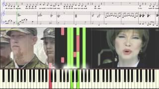 Молитва - Л. Гурченко (Ноты для фортепиано) (piano cover)