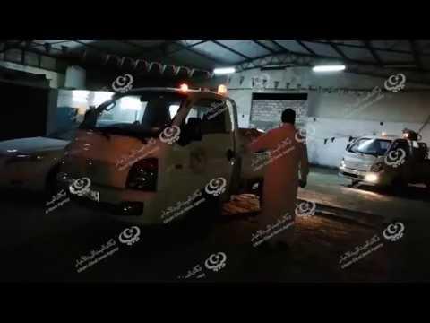 شركة خدمات النظافة العامة مصراتة تبدأ في رش المدينة من الحشرات