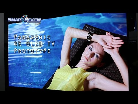 CES 2015 | Panasonic 4K LED TV Lineup | OLED Prototype | Ultra HD |  CX850, CX800, CX650, CX600 TVs