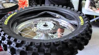 Video How To Change A Motorcycle Tire MP3, 3GP, MP4, WEBM, AVI, FLV Juli 2019