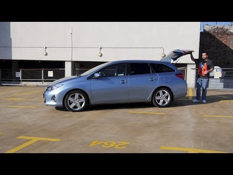 (ENG) Toyota Auris Touring Sports – Test Drive and Review