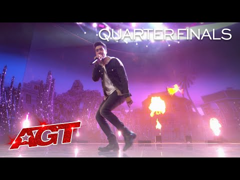 AMAZING Voice Impressions of Your Favorite Rappers by Vincent Marcus - America's Got Talent 2020