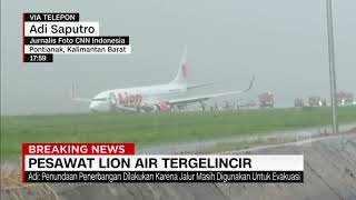 Video Pesawat Lion Air Tergelincir MP3, 3GP, MP4, WEBM, AVI, FLV Februari 2019