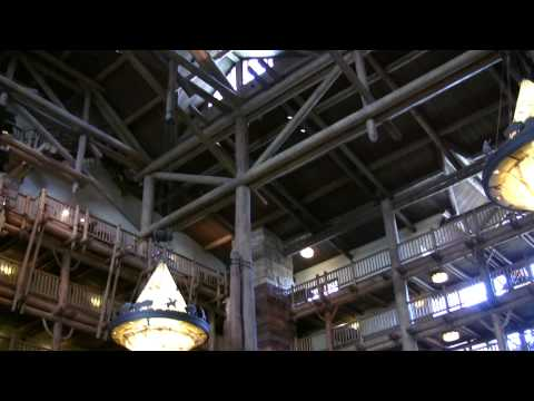 Disney World Hotels-Disney's Wilderness Lodge Walk-through