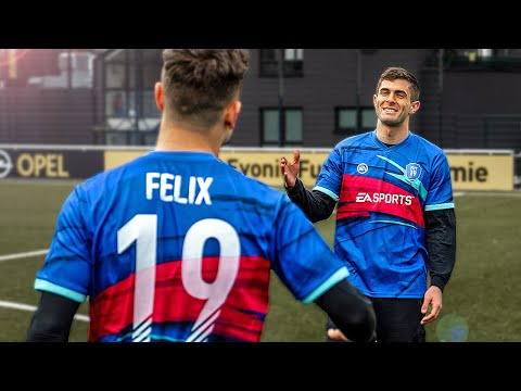 Christian Pulisic vs freekickerz - FIFA 19 Fußball Challenge - Thời lượng: 12 phút.