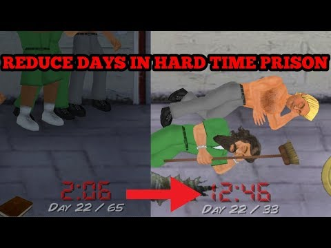 😍😘HOW TO REDUCE DAYS[SENTENCE] IN HARD TIME PRISON + EARN UNLIMITED MONEY IN HARD TIME PRISON