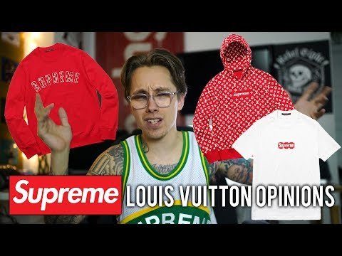 SUPREME X LOUIS VUITTON REVIEW & OPINIONS