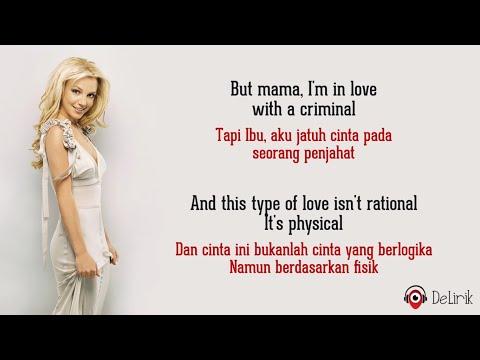 Criminal - Britney Spears [Slowed Down] (Lyrics video dan terjemahan)