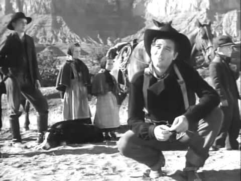 "Ward Bond in John Ford's ""Wagon Master"""