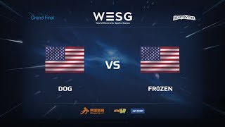 Fr0zen vs Dog, game 1