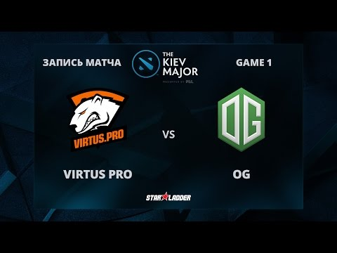VirtusPro vs OG, Game 1, The Kiev Major Play-Off Grand-Final