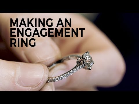 Making An Engagement Ring with Bobby White