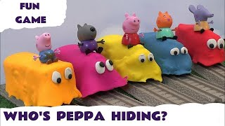 Peppa Pig Play Doh Covered Thomas The Train Toy Trains Thomas and Friends Play-Doh Guess Kids