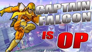 Captain Falcon is OP – Smash Bros. Wii U Montage [Little Z]