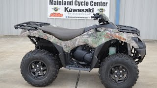 4. $10,599:  2015 Kawasaki Brute Force 750 EPS Camo Overview and Review