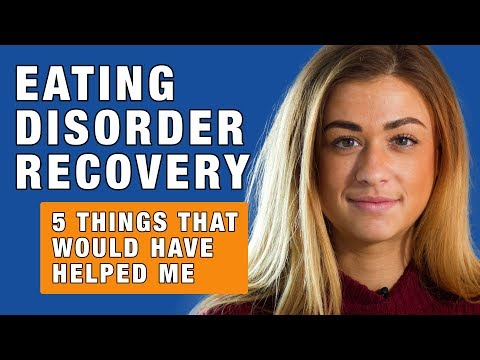 Emma Oldfield, 22, from Stockton-on-Tees, wants medical professionals to improve how they treat people recovering from an eating disorder.