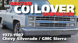 Download Lagu 73-87 C10 Coilover Suspension Install -- Full Mp3