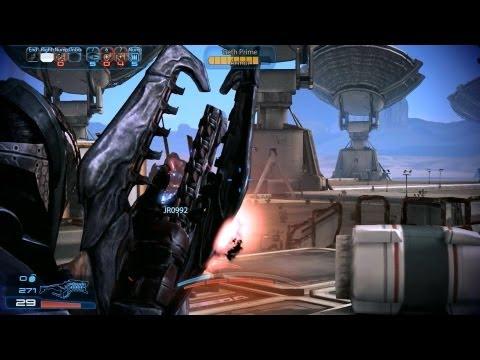 Mass Effect 3 multiplayer gameplay coop on Firebase Dagger map with Battlefield 3 Soldier