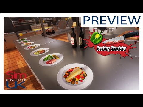 Cooking Simulator Let's PLAY (Preview Demo) By Sim UK DAY 1