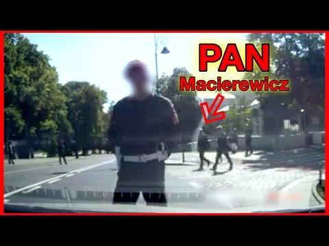 ŻW zatrzymuje ruch, by Macierewicz przeszedł przez ulicę!