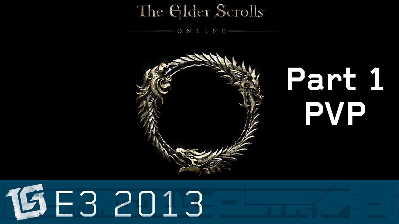 Elder Scrolls Online: видео - PVP - TGS at E3 2013
