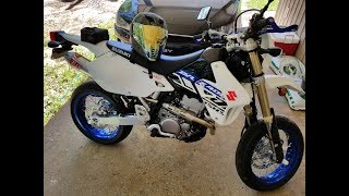 2. New DRZ400SM 2019 My first ride