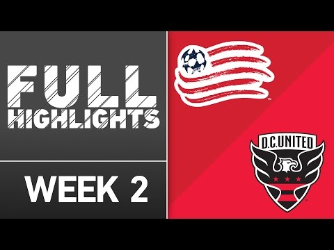 Video: HIGHLIGHTS: New England Revolution vs D.C. United | March 12, 2016