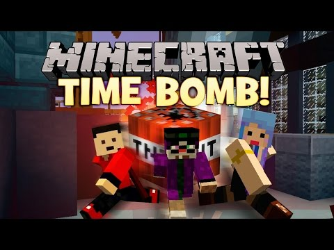 I - We play a Minecraft Mini-Game called TimeBomb with ChimneySwift! Leave a LIKE if you would like to see more Mini Games like this video!