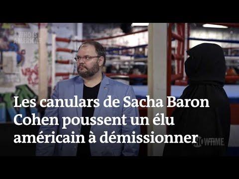 Les canulars polémiques de Sacha Baron Cohen