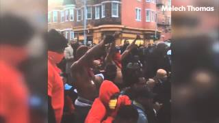 Baltimore Residents' Reactions To Riots