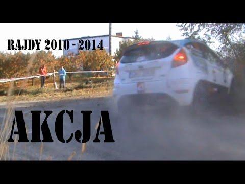 Rajdy 2010 - 2014 AKCJA cz.1