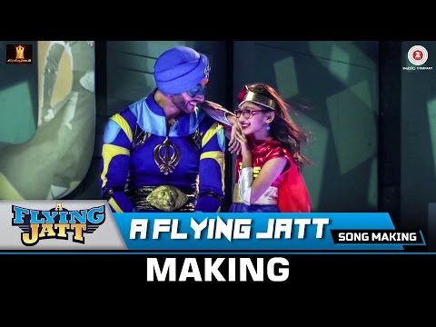 A Flying Jatt (Title Track) - Song Making   Tiger Shroff & Jacqueline Fernandez   Sachin - Jigar