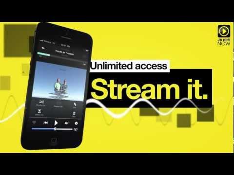 Video of JB Hi-Fi NOW Music