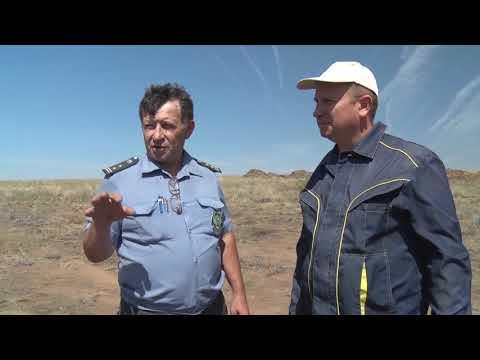 В Ростовской области Управлением Россельхознадзора выявлен незаконный карьер по добыче камня