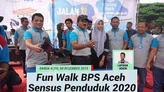 Fun Walk BPS Aceh Dalam Rangka Sensus Penduduk 2020