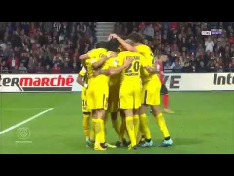 EA Guingamp vs PSG 0 3   Neymar first match in France