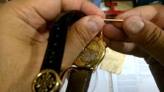 How to remove a strap from a Patek Philippe Wrist Watch