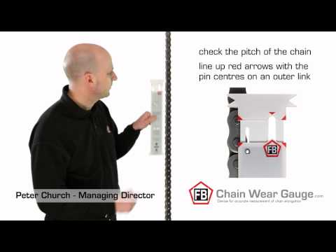 Chain Wear Gauge from GB Power Transmission