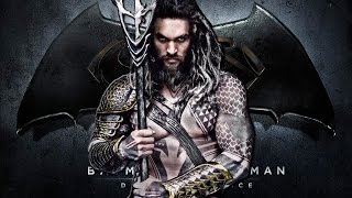Jason Momoa as Aquaman First Look!